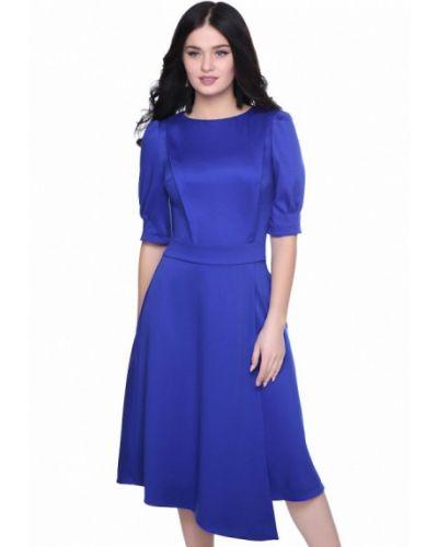 Синее деловое платье Grey Cat