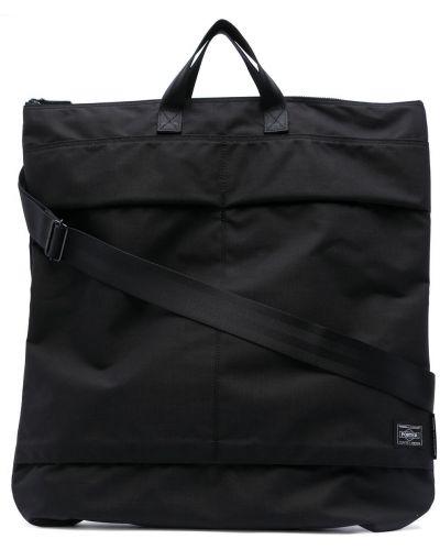 Czarna torba na ramię z nylonu Comme Des Garcons Homme