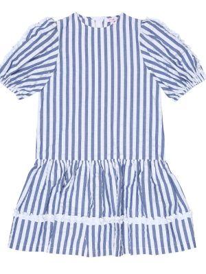 Sukienka biały niebieski Il Gufo