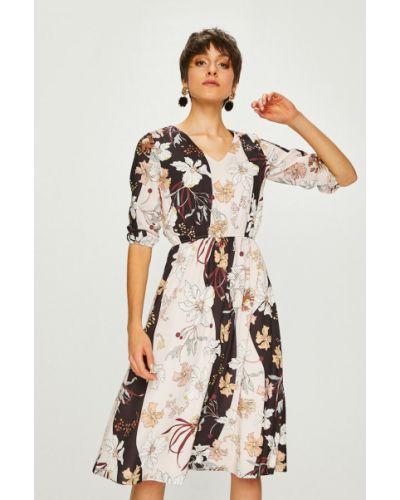 Платье миди с поясом на резинке Trendyol