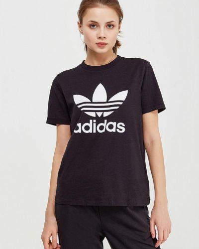 Футболка черная Adidas Originals