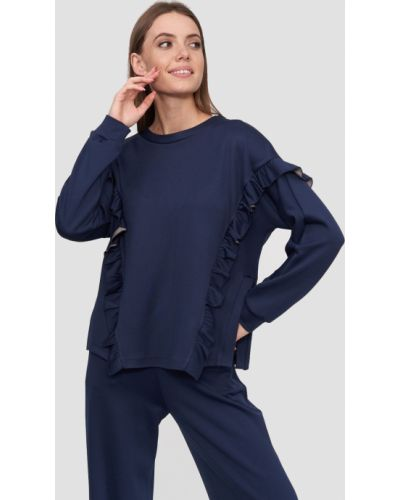 Синяя спортивная кофта Natali Bolgar