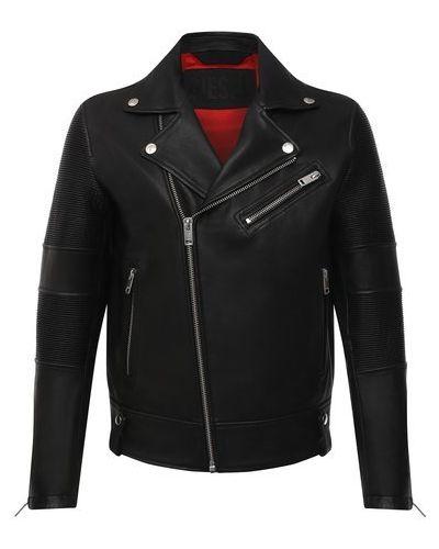 Кожаная куртка с подкладкой Diesel