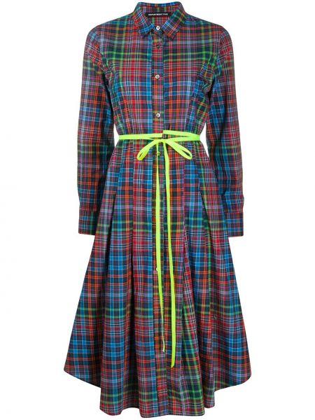 Платье макси на пуговицах классическое Department 5