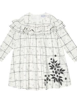 Платье с вышивкой - белое Tartine Et Chocolat