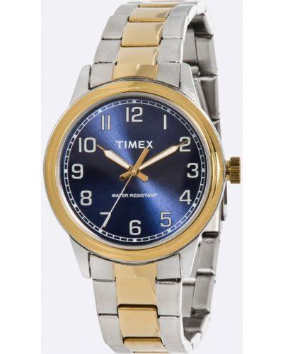 Часы водонепроницаемые серебряный универсальный Timex
