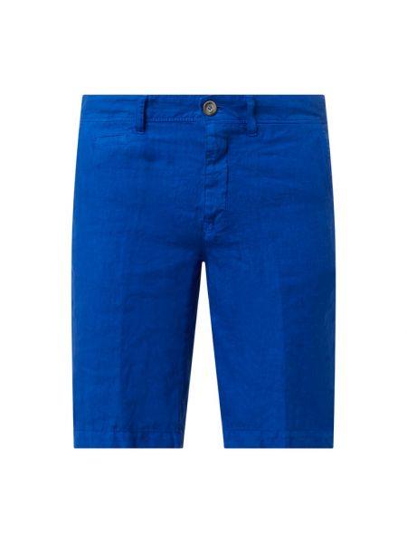 Niebieskie szorty chinosy Zeybra