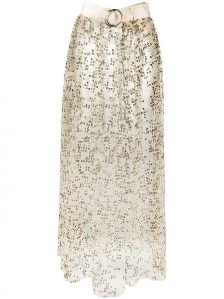 Юбка макси с завышенной талией с поясом Rachel Comey