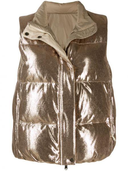Жилетка на молнии с карманами Brunello Cucinelli