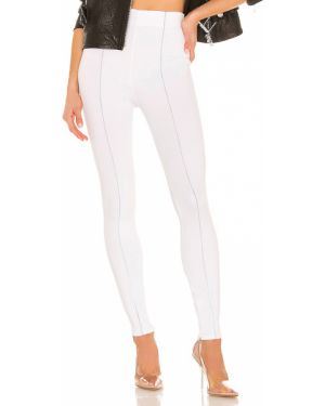 Białe legginsy z nylonu H:ours