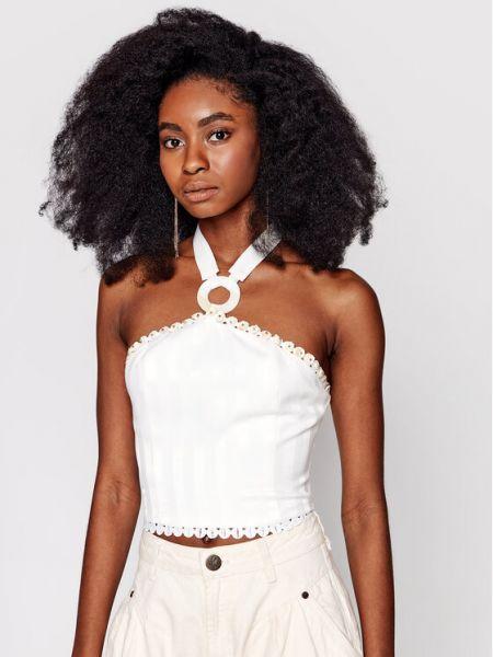 Biała koszulka Ixiah