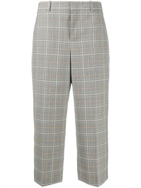 Bawełna wełniany beżowy spodnie culotte bezpłatne cięcie Givenchy