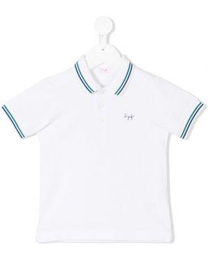 Асимметричная белая рубашка Il Gufo