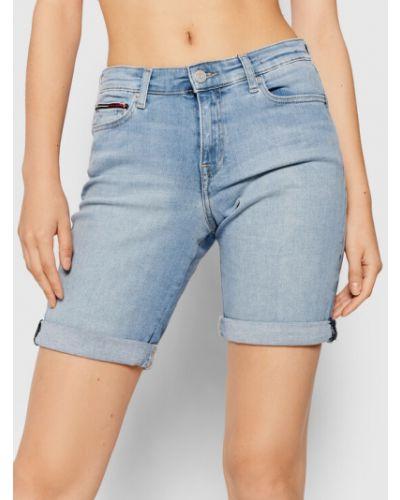 Szorty jeansowe - niebieskie Tommy Jeans