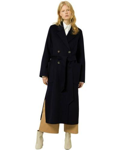 Niebieski płaszcz Ivy & Oak