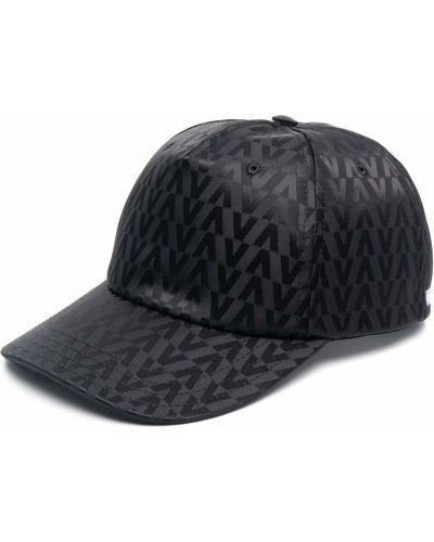Czapka z daszkiem - czarna Valentino
