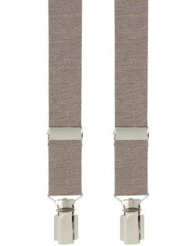 Brązowe szelki bawełniane Willen
