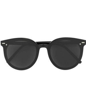 Черные солнцезащитные очки металлические Gentle Monster