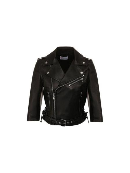Кожаная куртка укороченная Redvalentino