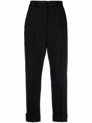 Черные брюки с поясом Dolce & Gabbana