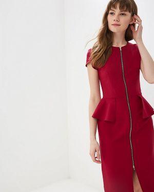 Платье бордовый красный Shovsvaro