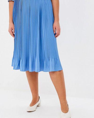 Синяя юбка Violeta By Mango
