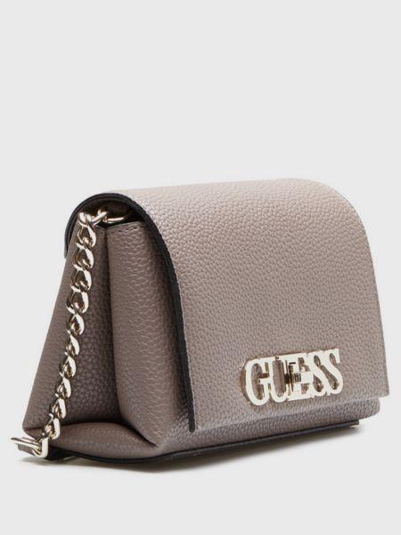 Коричневая сумка Guess