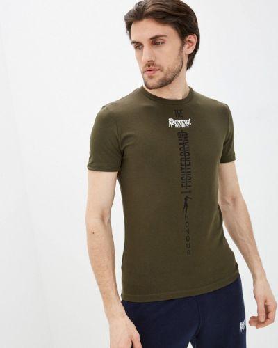 Зеленая футболка Boxeur Des Rues