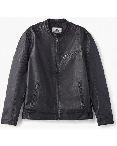 Кожаная куртка черная осенняя твое