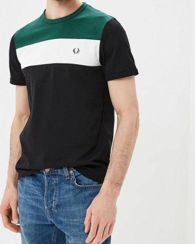 Черная футболка Fred Perry