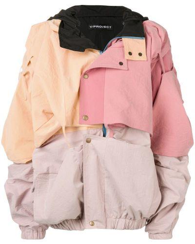 Розовая куртка свободного кроя Y/project