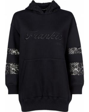 Черная спортивная кофта Frankie Morello