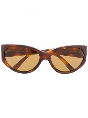 Золотистые желтые солнцезащитные очки Versace Eyewear