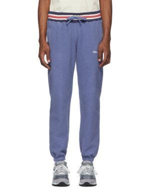 Spodnie na gumce z haftem z kieszeniami Aime Leon Dore