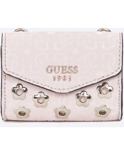 Розовый кошелек Guess Jeans