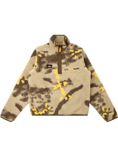 Пуловер на молнии - коричневый Travis Scott Astroworld