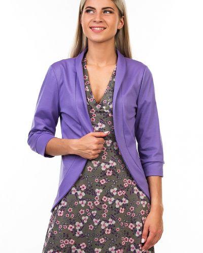 Трикотажный приталенный пиджак с воротником Kapsula