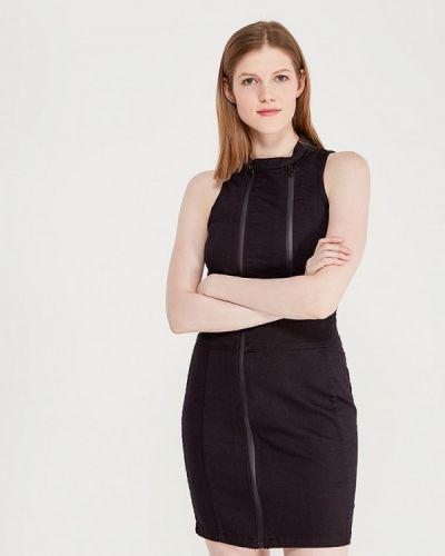 Черное платье G-star