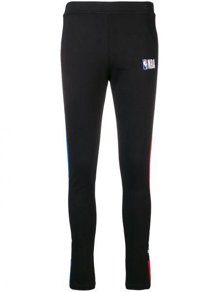Облегающие спортивные брюки в полоску из вискозы Marcelo Burlon. County Of Milan
