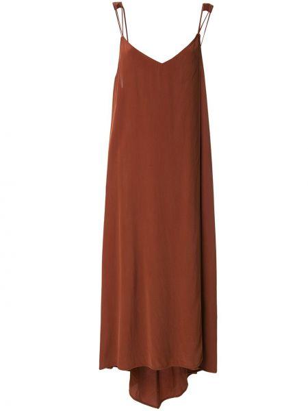 Платье с открытой спиной - красное Taylor