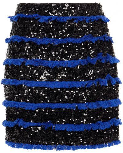 Spódniczka mini - czarna Balmain