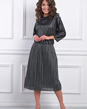Платье серое платье-сарафан Bellovera