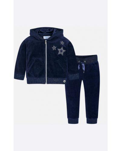 Спортивный костюм синий свободного кроя Mayoral