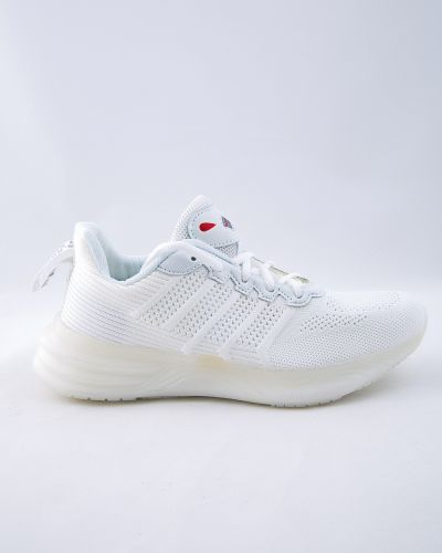 Текстильные белые кроссовки Saijun