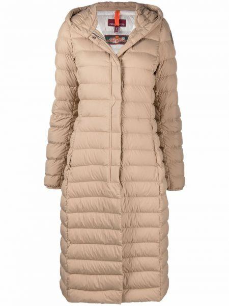 Бежевое пальто из полиэстера Parajumpers