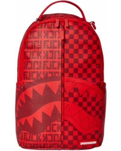 Czerwony plecak Sprayground