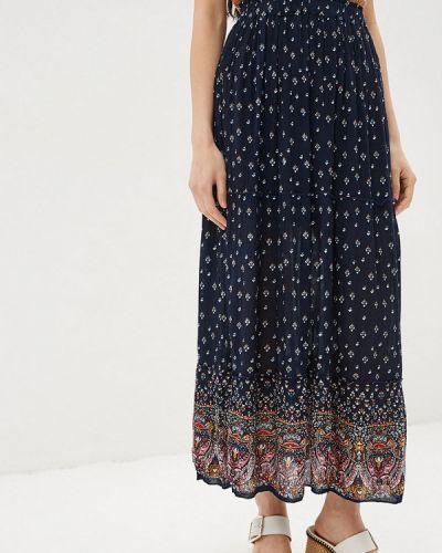 Синяя юбка Bruebeck