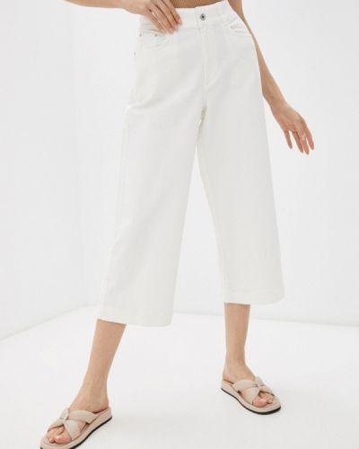 Белые широкие джинсы свободного кроя Q/s Designed By