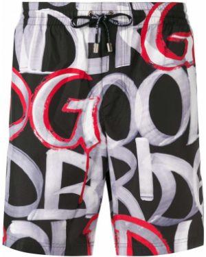 Spodnie bokserskie z logo z kieszeniami Dolce And Gabbana