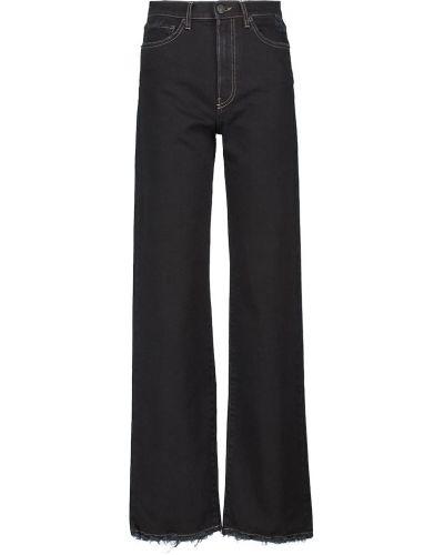 Джинсовые широкие джинсы - черные 3x1